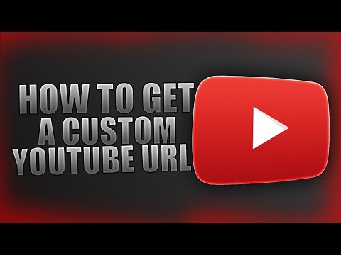 How To Get a Custom YouTube URL/Channel Link (IT'S FREE)