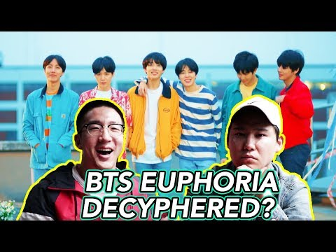 BTS Euphoria : Theme of LOVE YOURSELF 起 Wonder REACTION & THEORY