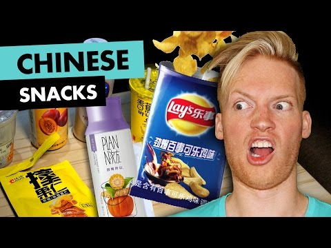 Chinese Snacks Review in Shanghai