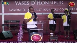Église vases d'honneur centre Kodesh, Côte d'Ivoire, Abidjan - 2 Pl...