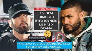 Eminem Dragged Into Joyner Lucas/Lil Nas X Drama, Eminem Fans Unfazed After Study On Lose Yourself