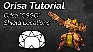 "Gambar cover ""CSGO"" Shield Trick Techniques & Locations | Overwatch Advanced Orisa Guide"