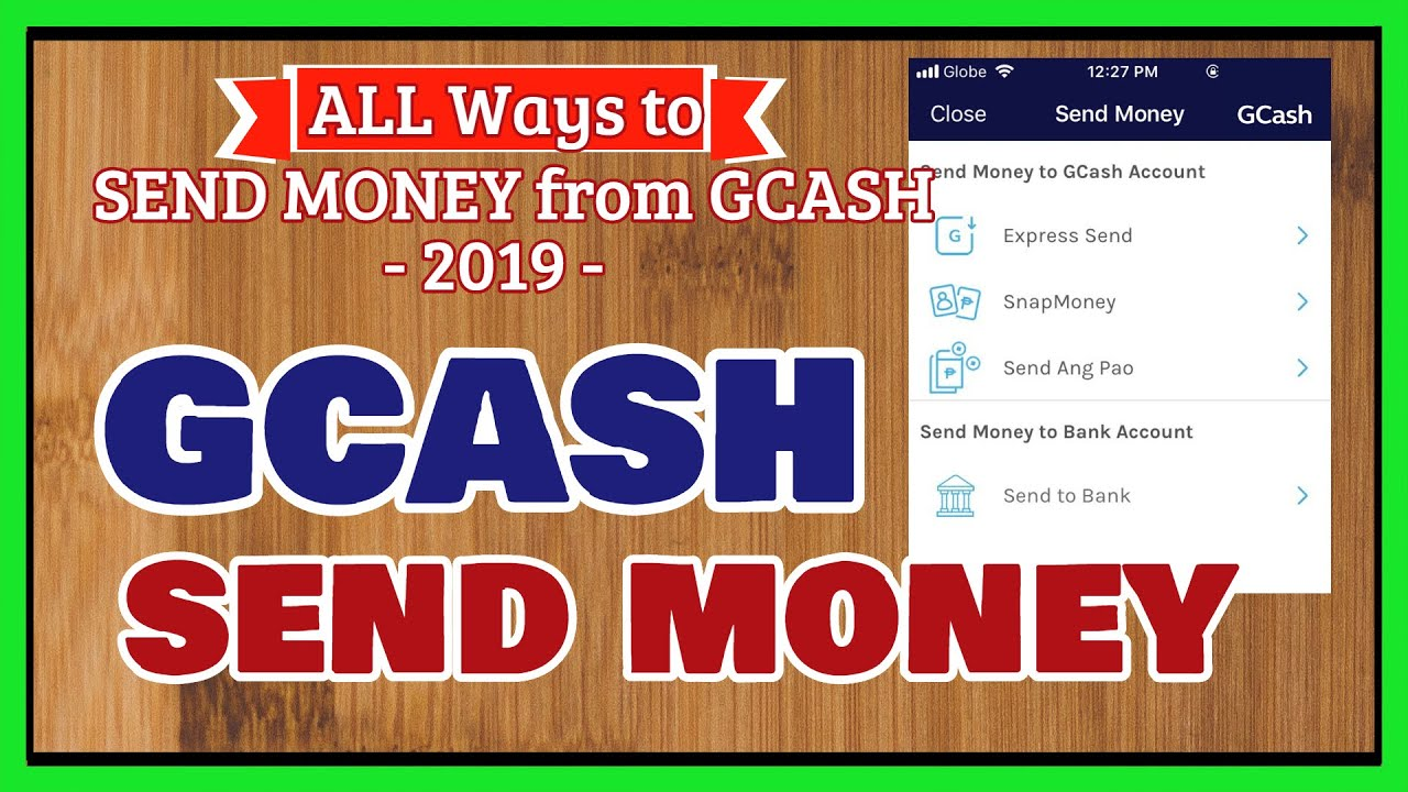 Gcash Send Money Diffe Ways To Transfer From Free