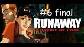 Runaway Twist of fate - HD - FR - walkthrough - chapitre 6 - final