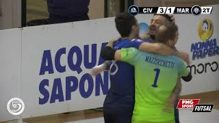 Serie A PlanetWin 365 Futsal | Civitella Colormax vs Maritime Augusta Highlights