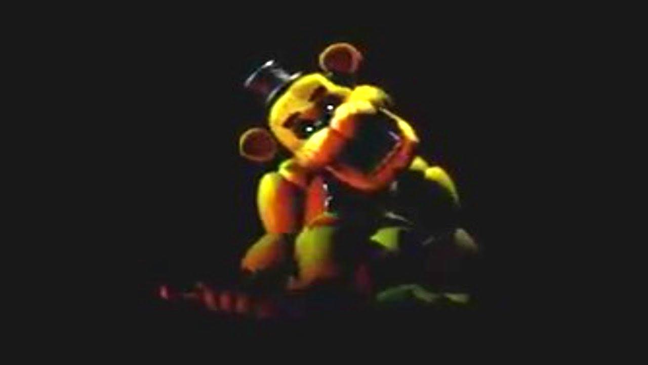 Ultimate Custom Night - Golden Freddy Cutscene