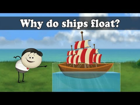 Archimedes Principle - Why do ships float?   Smart Learning for All