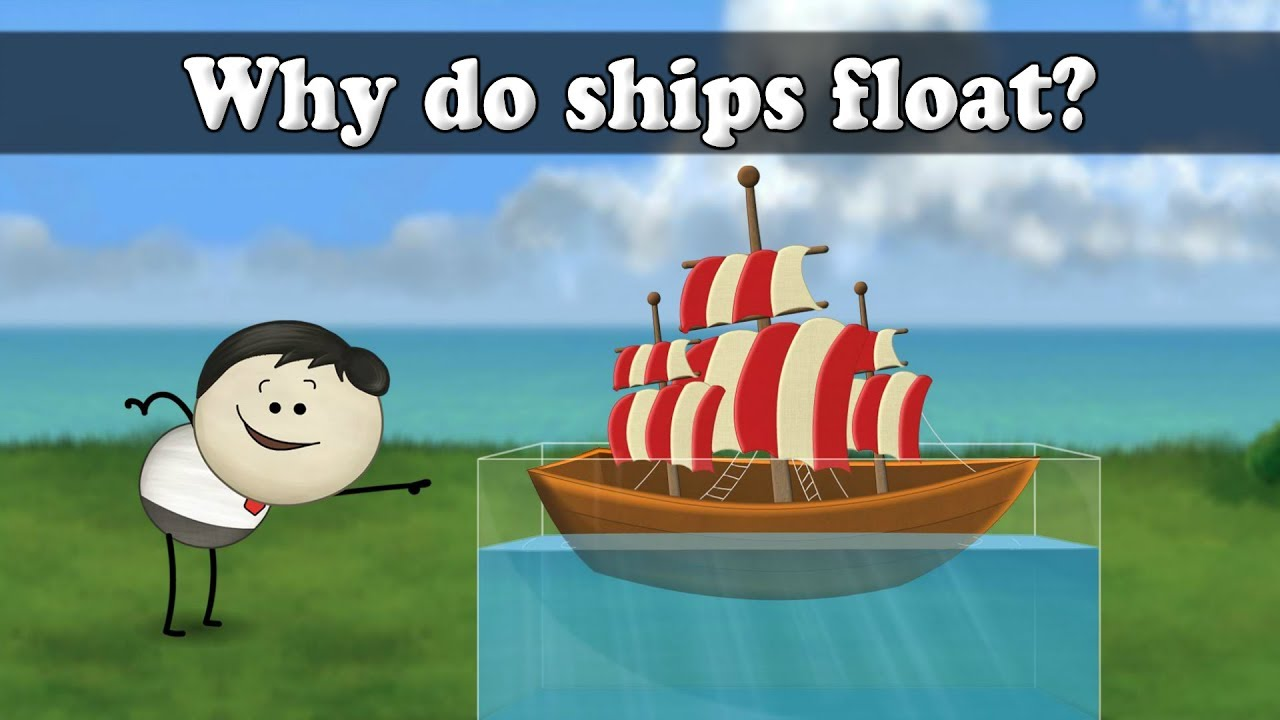 hight resolution of archimedes principle why do ships float aumsum