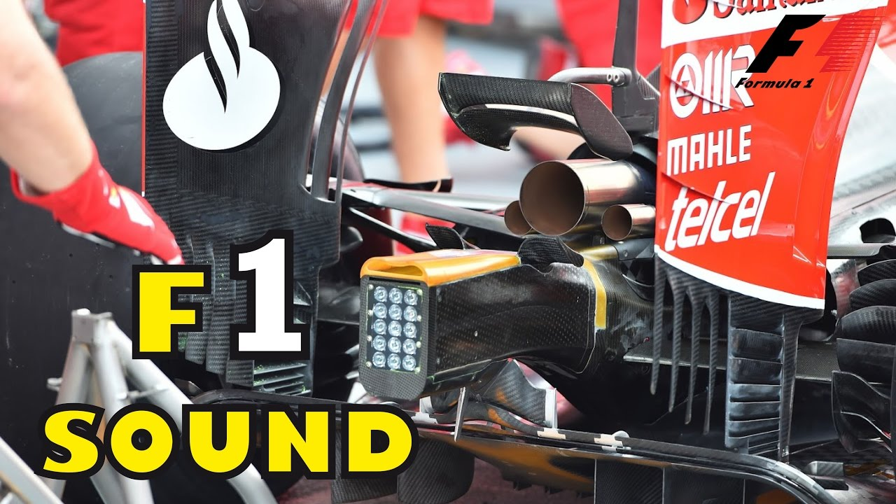 F1 Start Engine Sound Compilation (FORMULA 1 Ferrari, Honda, Renault..)