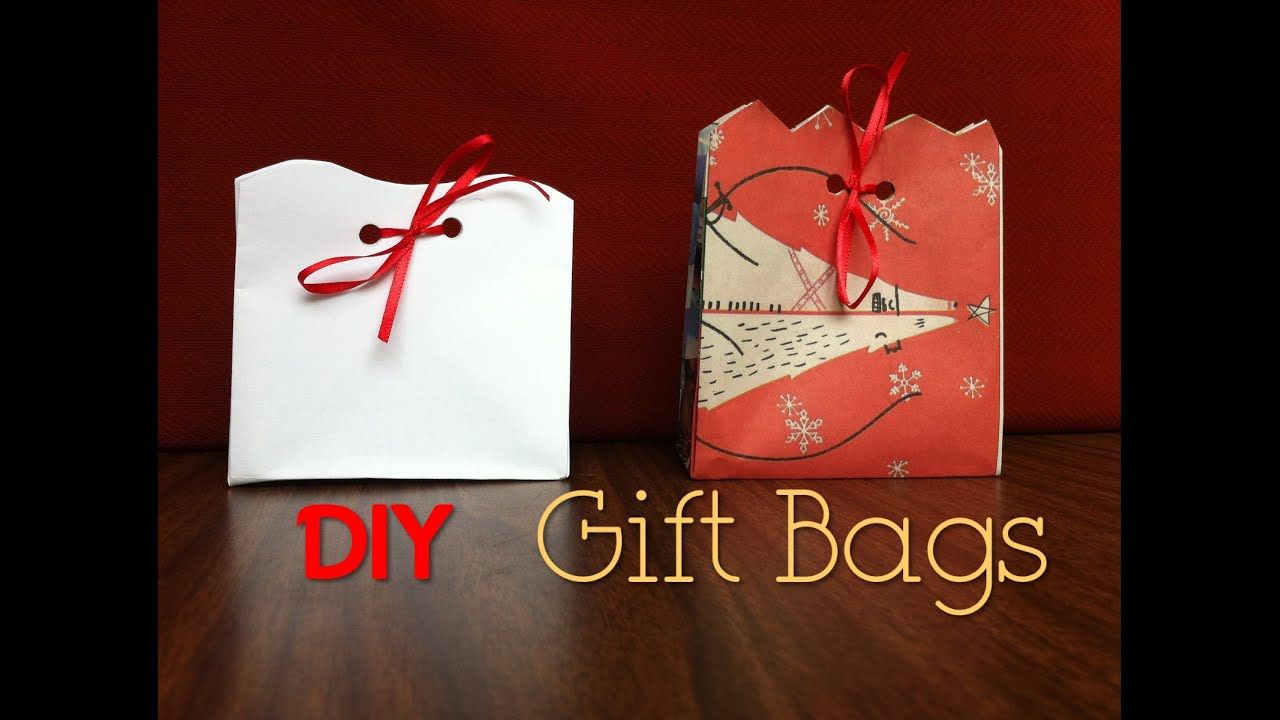 Diy Gift Bags Day 5: 12 Diys Of Christmas  Keepingupwithashlyn  Youtube