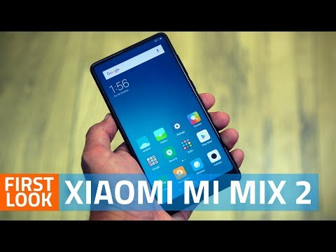 Xiaomi Mi Mix 2 First Look | Camera, Specs, Price, and More