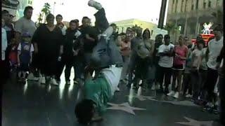 ハリウッドで路上パフォーマンスを続けるブレイクダンサーたちのドキュ...