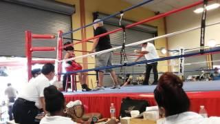 Manuel Tercero TKO at jurupa valley 39 s boxing show 2016