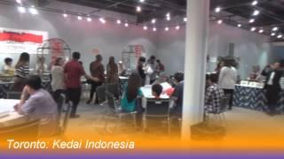 KJRI Toronto: Kedai Indonesia (6 Juni 2015)