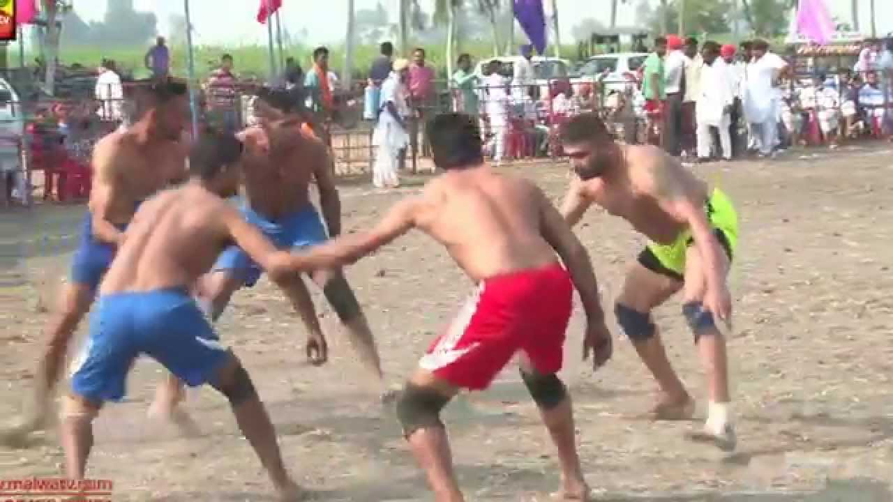 BAL (Ferozepur) || KABADDI TOURNAMENT - 2015 || BOYS SEMI FINALS MATCH ||