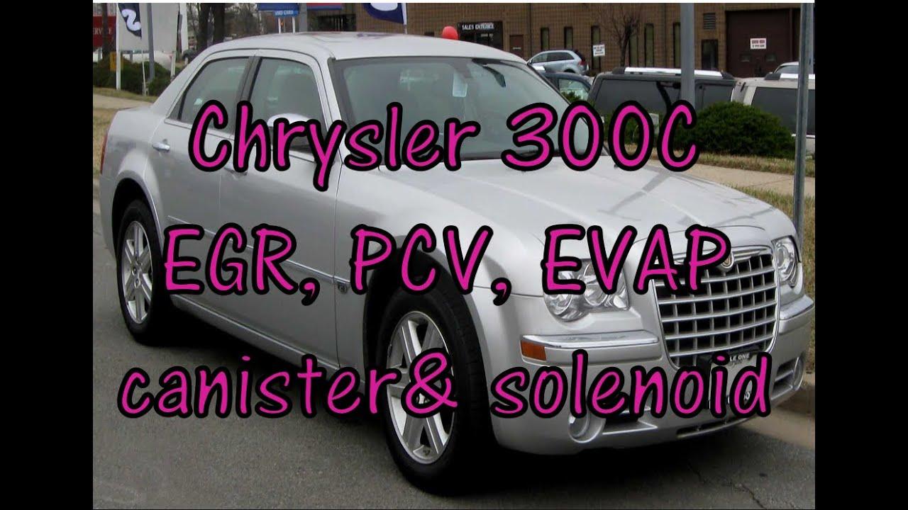 Chrysler C300 Emissions Pcv Evap Canister Purge Egr Valve 2003 Jeep P0443 Fuse Box Diagram Locations