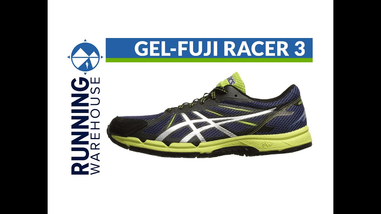 Asics Gel Fuji Racer 3 for men - YouTube
