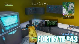 Fortnite Battle Royale ? Fortbyte Challenges How to get the Fortbyte #43