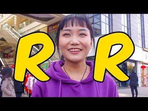 """Los chinos si son capaces de pronunciar la letra """"R"""" y esta es la demostración"""