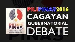 PiliPinas 2016 Gubernatorial Debate Cagayan (Full)