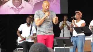 """Brian Courtney Wilson: """"All I Need"""" - SummerStage Central Park New York, NY 8/9/14"""