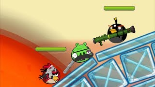 Angry Birds Ultimate Battle - TEAM 5 ANGRY BIRDS FIGHTING ALL PIGGIES