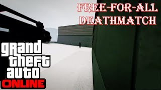 Grand Theft Auto 5 - Free-For-All Deathmatch! (GTA 5 Funny And Random Moments)