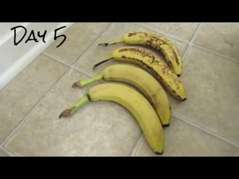 Svona geymast Bananar lengur ferskir