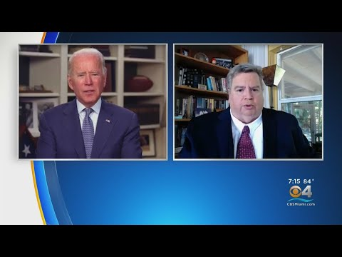 WEB EXTRA EXCLUSIVE: Joe Biden Discusses Policy Stance In Regards To Cuba