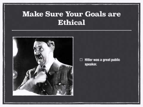 Public Speaking 2 - Confidence and Ethics/Giving Your First Speech