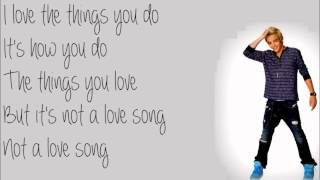 Not A Love Song - Austin & Ally Lyrics [Full]