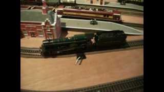Running a GWR Steam Locomotive around my model railway.