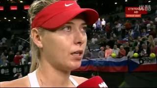 Maria Sharapova VS Petra Kvitova Highlight Fed Cup 2015