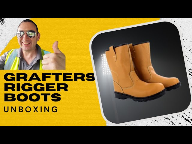 Grafters Boots Unboxing Truck Drivers Review British Trucking