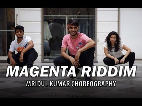 Magenta Riddim | Bhangra Cover | Mridul Kumar Choreography