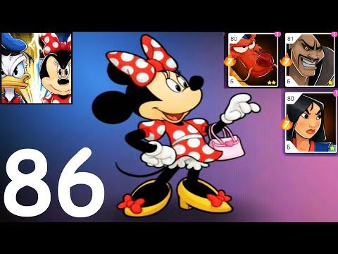 Disney Heroes Battle Mode #86 (мобильная игра)  прохождение для детей ГЕРОИ ДИСНЕЯ Боевой Режим