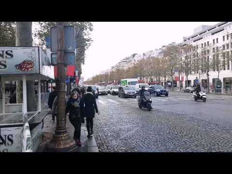 Dicas de Paris / Avenida Champs Élysées - Parte 1
