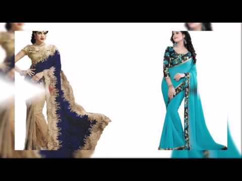 Latest Fashion Trendy Designer Saree Partywear Sarees 2016 Snapdeal | Latest Fashion Collection