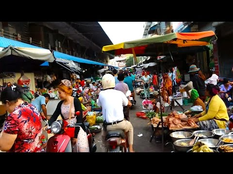 Daily Life In Market - Market Live Activities In My Village - Market Street Foods