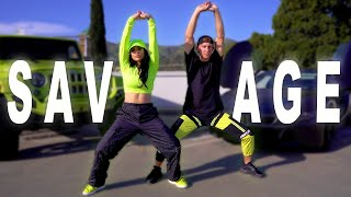 SAVAGE - Megan Thee Stallion & Beyonce (Maata Remix) Dance | Matt Steffanina