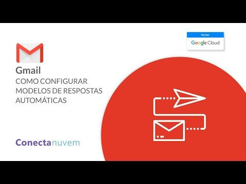 Como configurar modelos de respostas automáticas no Gmail
