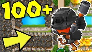 Can The DUMB SNIPER Go LATEGAME? 😂 Snipers VS Sun Gods! - Bloons TD Battles