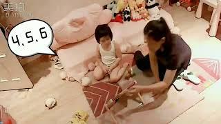 Foodie XiaoMan 超萌小吃貨~小蛮殿下的數數篇....這樣100很容易😅🌼🍄💯  #46個月 #kid #baby #eatingmachine #模度势 #小蛮 #xiaoman