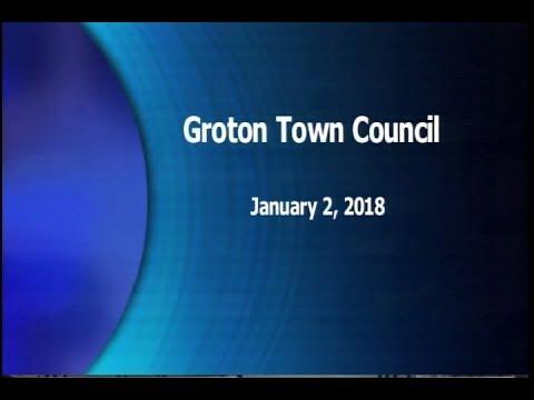 Groton Town Council - 1/2/18