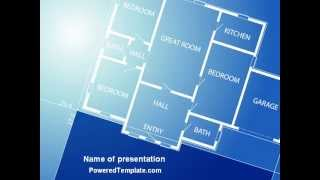 Room Layout Planning Powerpoint Template By Poweredtemplate.com