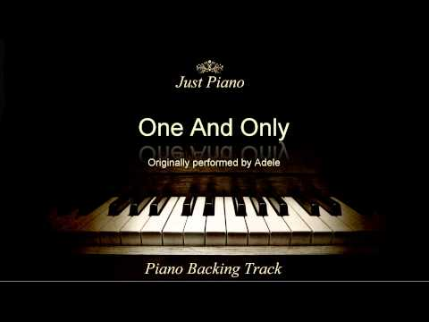 One And Only by Adele (Piano Accompaniment)
