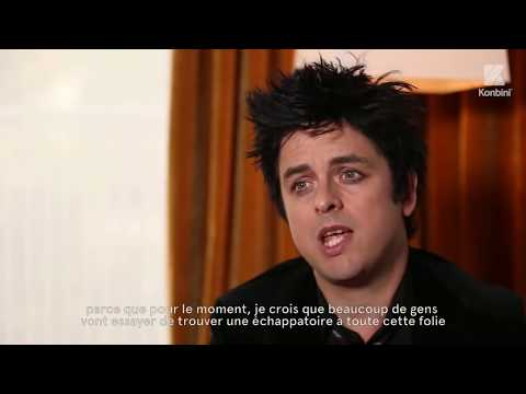 Billie Joe from Green Day talks about Donald Trump Win