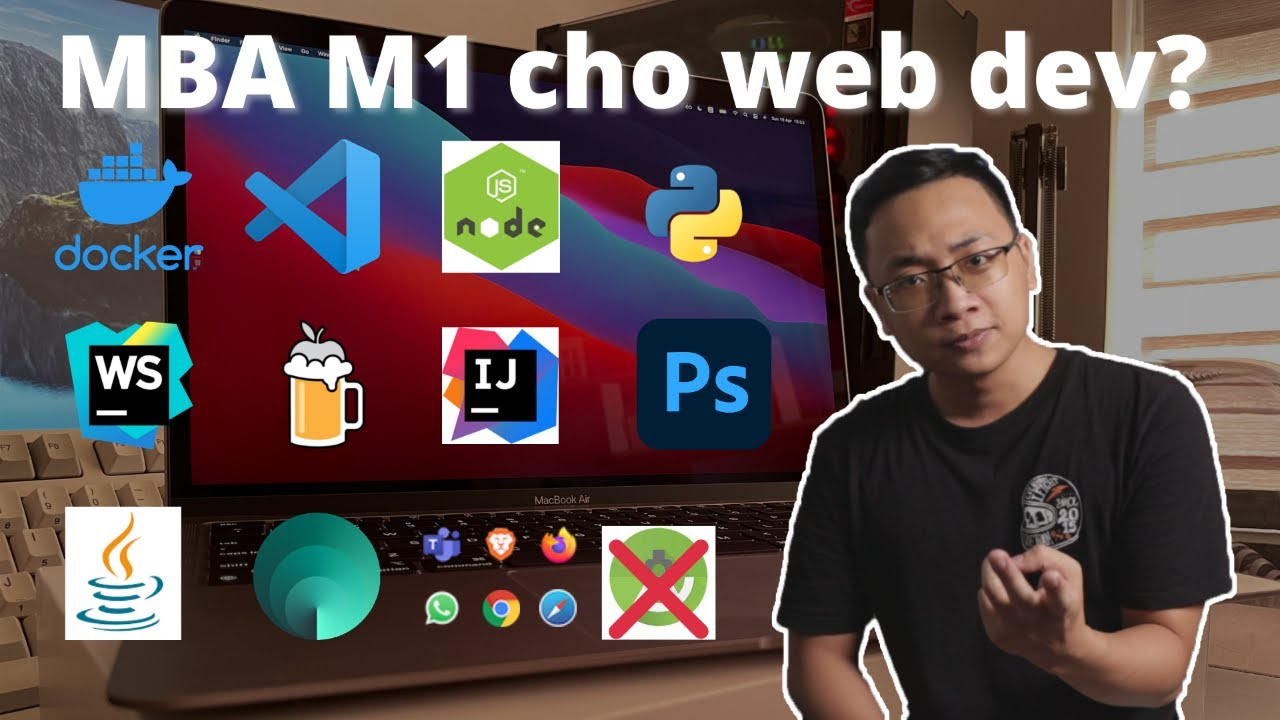 Đánh giá macbook air M1 dành cho lập trình viên web   Vlog