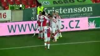 Slavia Praha vs. Příbram  2 - 1 All Goals ( Czech Liga - 28 November 2015)