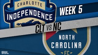 Charlotte Independence vs North Carolina FC: April 14, 2018